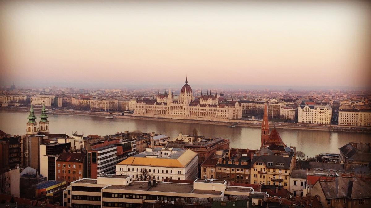 Innamorarsi di Budapest