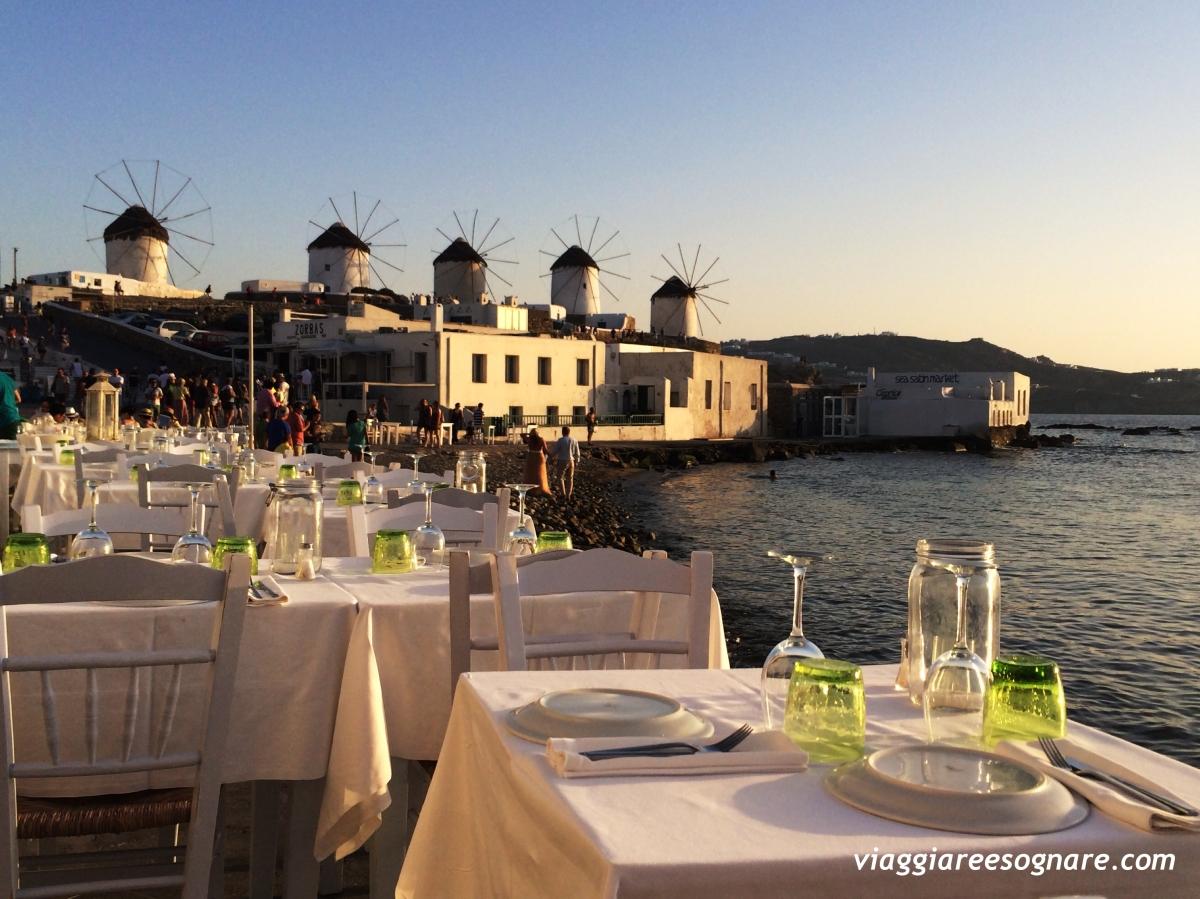 Mykonos: una splendida sorpresa! (Parte III - i ristoranti)
