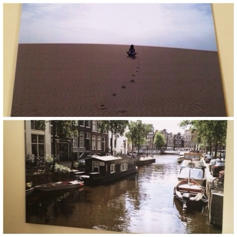 Foto su tela dei miei viaggi a Fuerteventura e Amsterdam