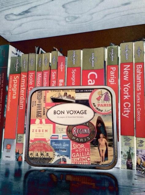 """La mia amata """"collezione"""" di guide Lonely Planet ;-)"""