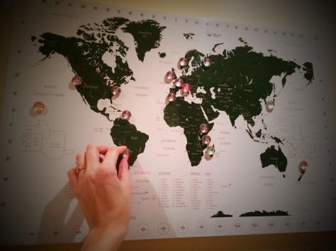 Il mio bellissimo Planner di viaggio magnetico :-)