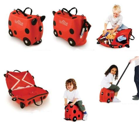 Trunki luggage ride kids