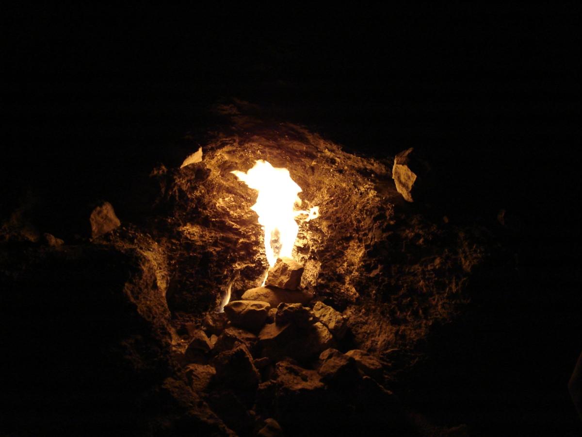 Sulla vetta del Monte Olimpo arde il fuoco della Chimera. Io l'ho inseguita....