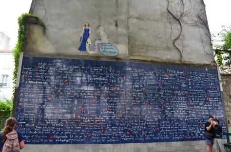 """Mur des """"Je T'Aime"""""""