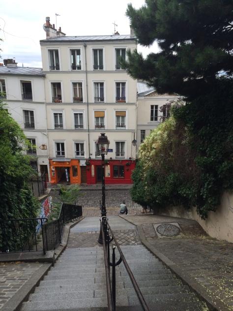 Salita per la Basilica del Sacro Cuore _ Montmartre