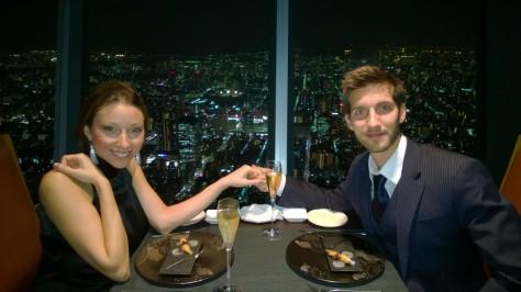 Martina e Francesco dalla Tokyo Sky Tree