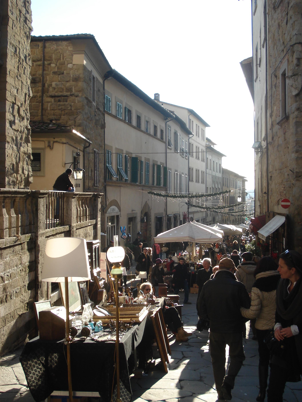Il prodigio del sasso spicco al santuario de la verna for Arezzo antiquariato