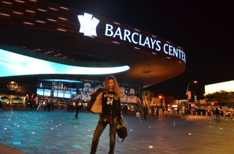 Tifosa dei Nets al Barclays Center :D