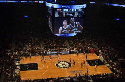 Brooklyn Nets VS New York Knicks al Barclays Center