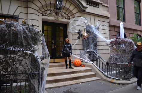 Halloween per le strade di Manhattan